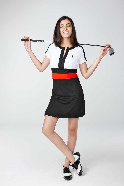 Golfkleid Buenavista weiss - Exklusive Damen Golfmode