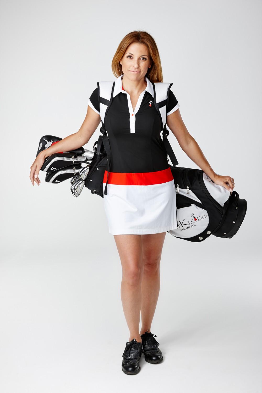 Golfkleid Son Vida schwarz, Golfmode Damen