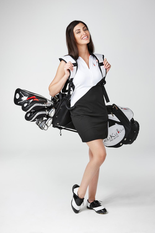 Golfkleid Abama weiss - Exklusive Golfmode für die Frau