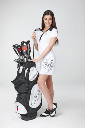 Golfkleid Crans Montana Weiss