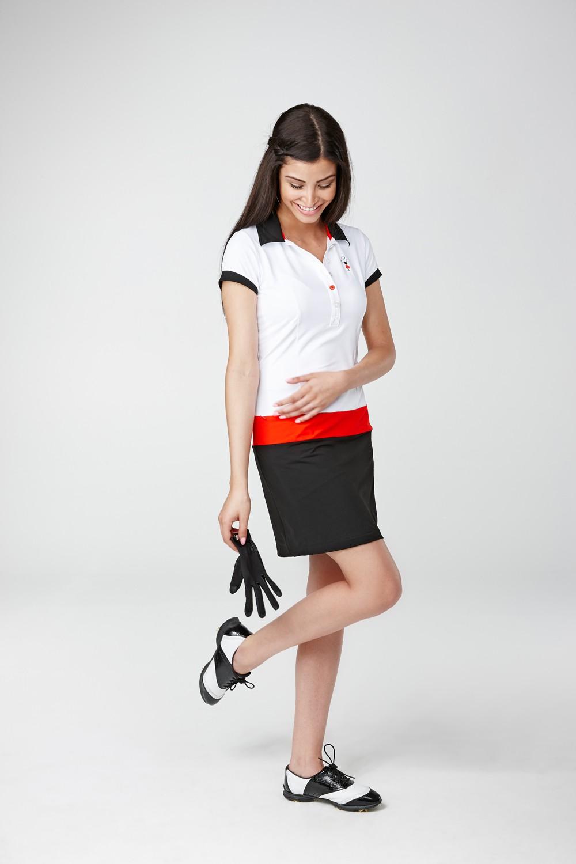 Golfkleid Son Vida weiss, Golfmode Damen